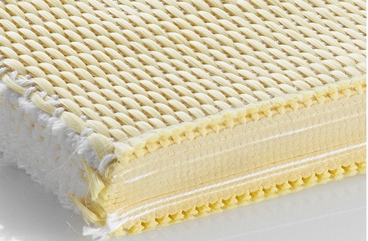 Swiss weaving machinery manufacturers are in the forefront of novel application development