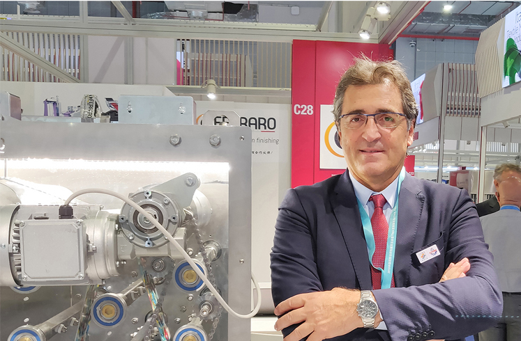 Italian Textile Machinery at Index, The World's Leading Nonwovens Trade Show
